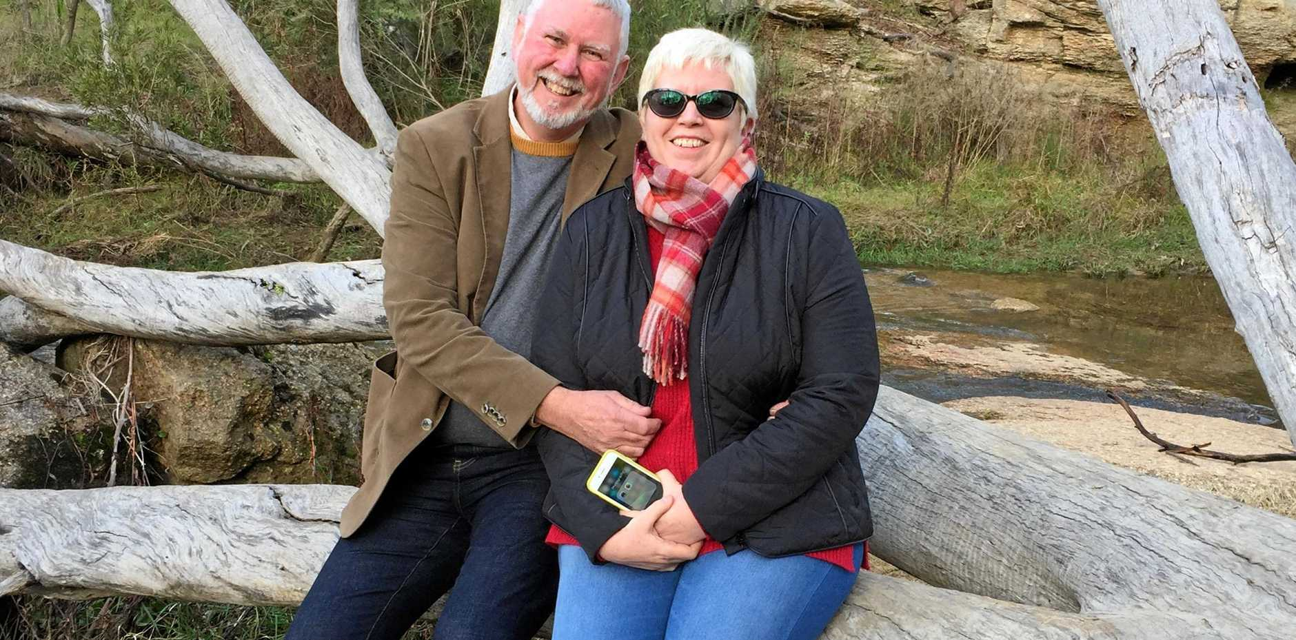 UNRETIREES: Revived and relaxed and with a whole exciting new world in front of them, unretirees Stuart and Robin Cumming.