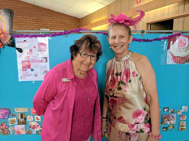 THE RIGHT SUPPORT: Jenny Ryan and Barbara Martin said anybody was welcome to find information and friendship at their  support group meetings.