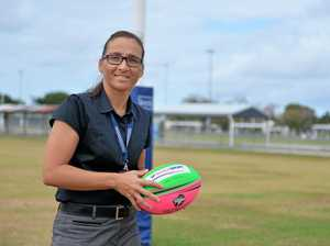 Former Jillaroo Detective Senior Sergeant Sam Bliss will carry the Commonwealth Games baton when it visits Mackay next year.