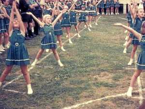 FLASHBACK: St Patrick's students in PE in the 1970s.