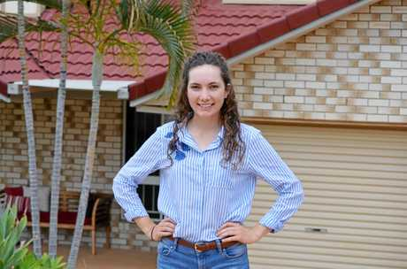 CITY: Zara Agar is finding her feet living in Brisbane while she completes her university degree.