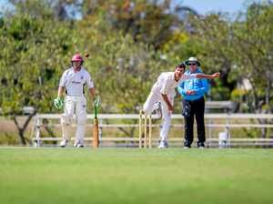 EXPERIENCE: Veteran Gold player Troy Ashton showed his worth with 4/13 in bowling figures against Nambour in the first innings.