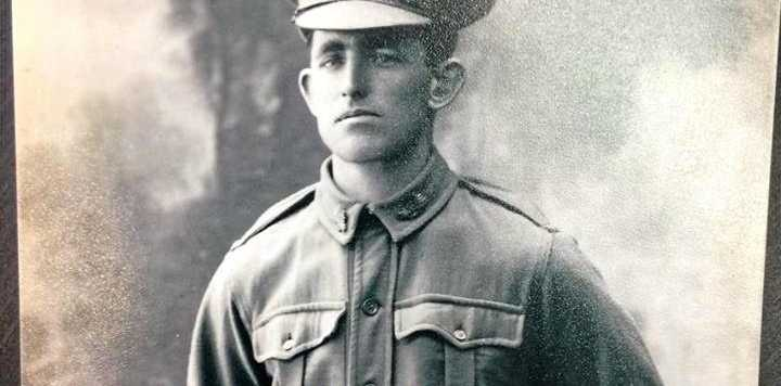 REMEMBERED: Private Matthew Frederick Hampson died in action 100 years ago.