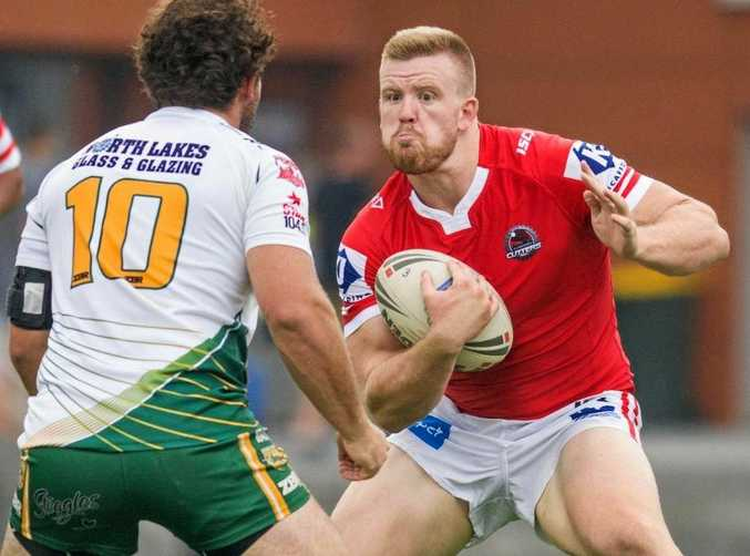ON HIS WAY: Jacob Hind was with the St George Illawarra Dragons and their feeder team Illawarra Cutters. He's set to lace-up with the Sunshine Coast Falcons.