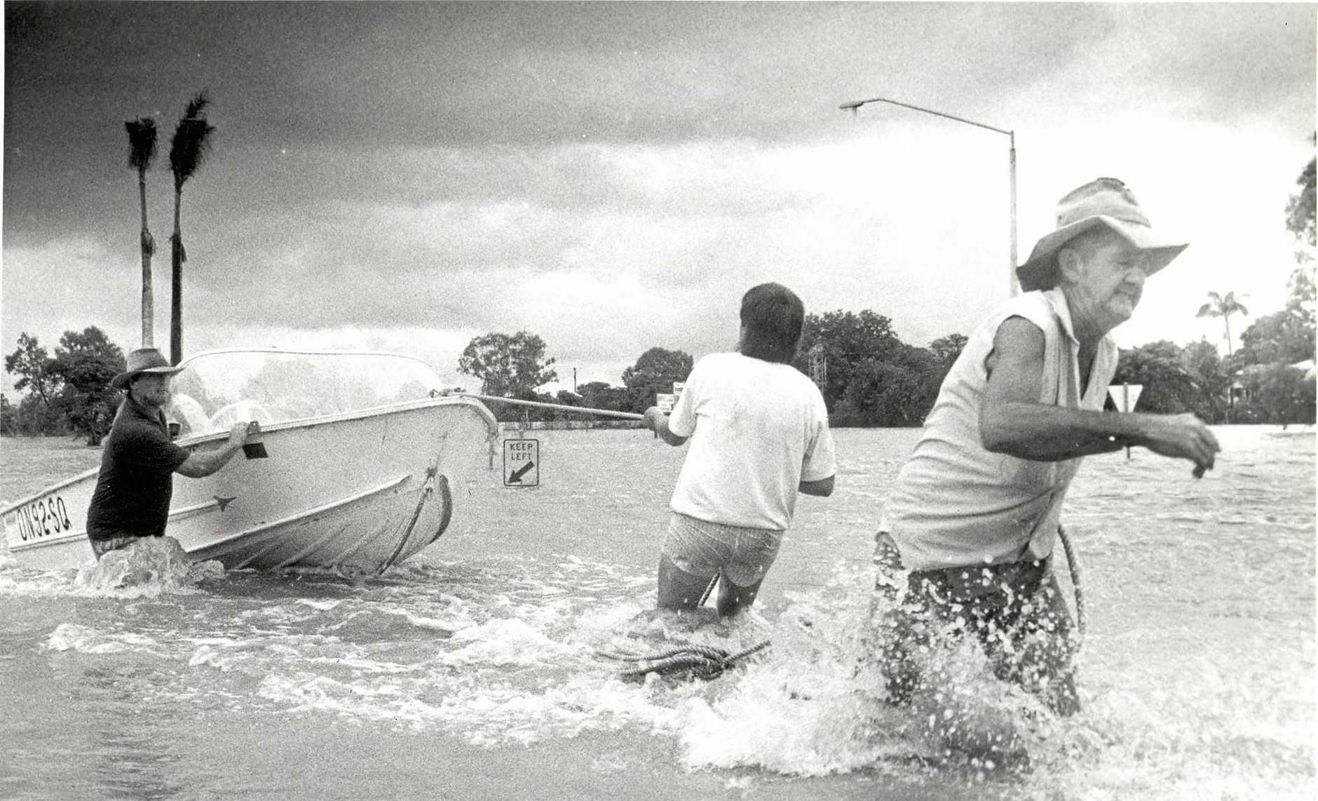 1991 Rockhampton Floods.