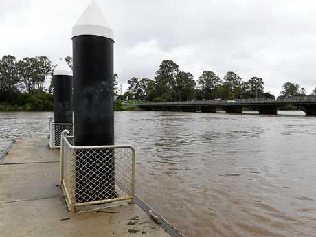 Mary River at the Lamington Bridge. 10am Tuesday.