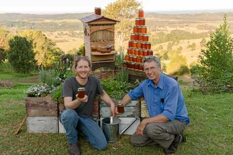 Flow hive another successful harvest © BeeInventive Pty Ltd.