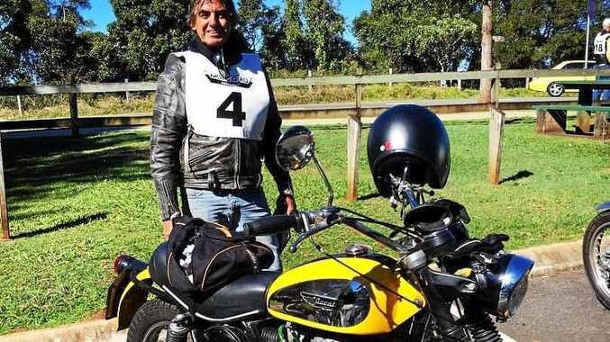 Bryan Baker was killed in a crash near Mackay earlier this year.