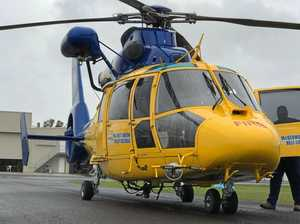 Coast choppers join sea search for six missing men