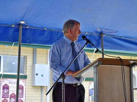 Member for Mirani Jim Pearce.