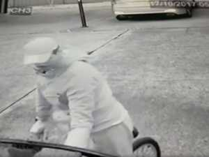 Men caught attempting to break into cars in CCTV footage