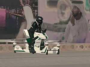 Dubai Police get Hover-bikes
