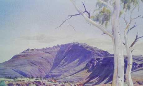 Albert Namatjira's artwork