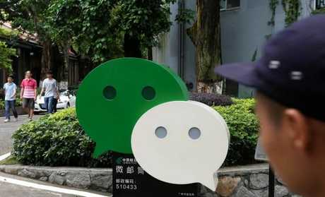 Tencent, which operates WeChat, was fined, along w