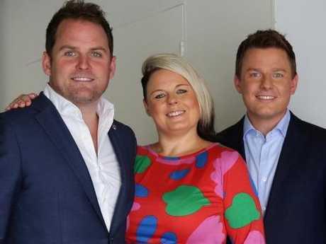 Siblings Ben, Nick and Sarah Fordham.
