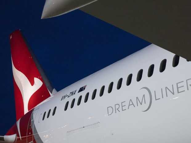 Great Southern Land is the first of Qantas' new Dreamliner aircraft.