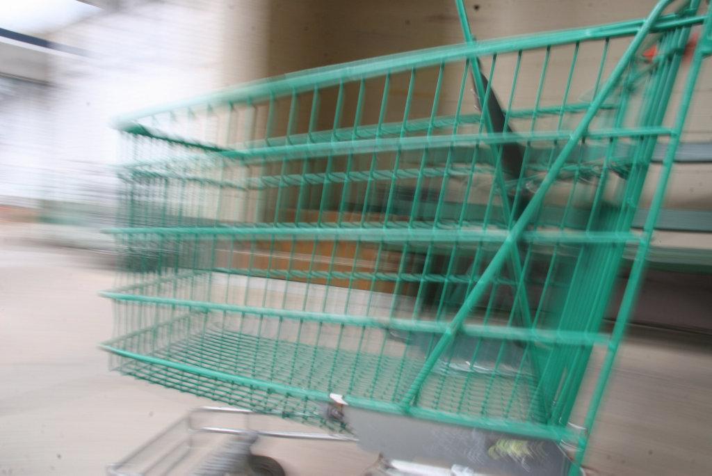Shopping trolley.Photo: Robyne Cuerel / Sunshine Coast Daily