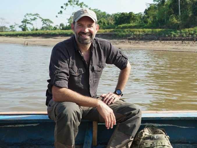 Paul 'Mungo' Mungeam on the hunt for giant snakes in the Amazon.