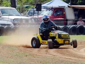 Mower Racing at Yaamba - B Grade Andrew Gardiner