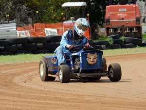 Mower racing at Yaamba - C Grade Jack Watson.