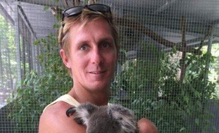 30-year-old Adam Hoffman is one of six men missing at sea.