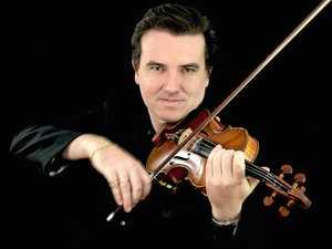 Violinist pulls heartstrings