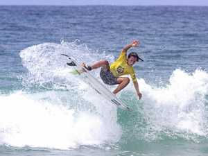 Son of a surfing gun secures title