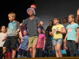 Curtains up on Seussical Jr