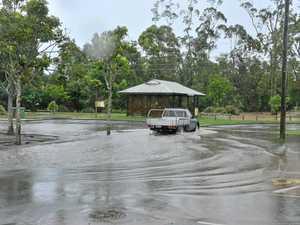 DELUGE: Relentless rain back in 2012 in Cooroy
