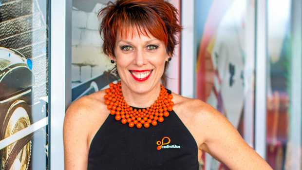 Owner of Redhotblue, Jody Euler, has been in business 20 years in Mackay and has plans for many more to come.