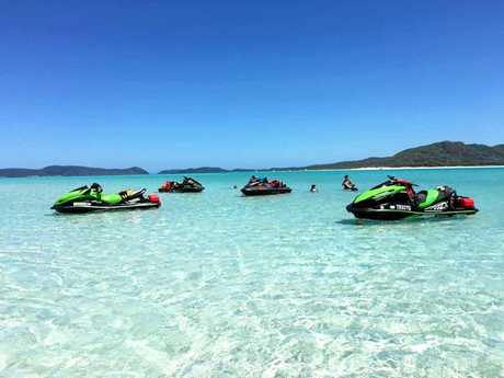 Whitsunday Powersports will soon organise group rides from Airlie Beach.