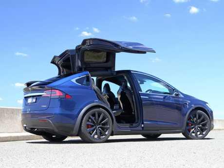 The 2017 Tesla Model X.