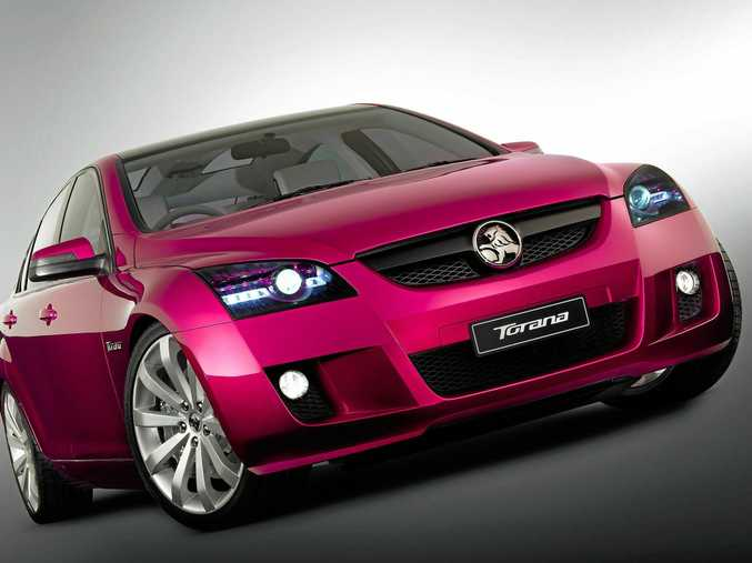 This concept car wasn't just for show. Holden explored the possibility of building a smaller Torana and large SUV off the same