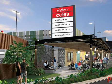 ARTISTS IMPRESSION: Kawana Shoppingworld's latest expansion will include an Events Cinema offering a Gold Class cinema experience.