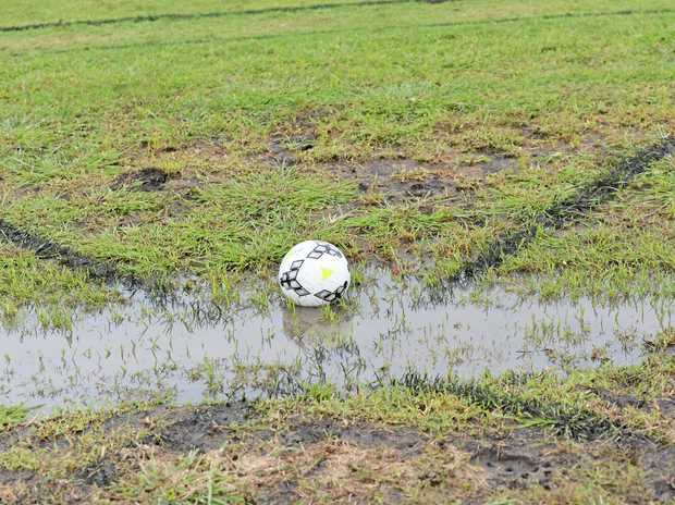 All South-West Queensland Thunder trials and training at Captain Cook fields have been washed out.