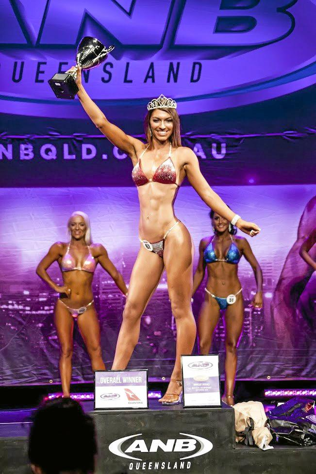 Jacquie Wood has set a higher bar for herself after competing in her first national bodybuilding competition earlier this month.