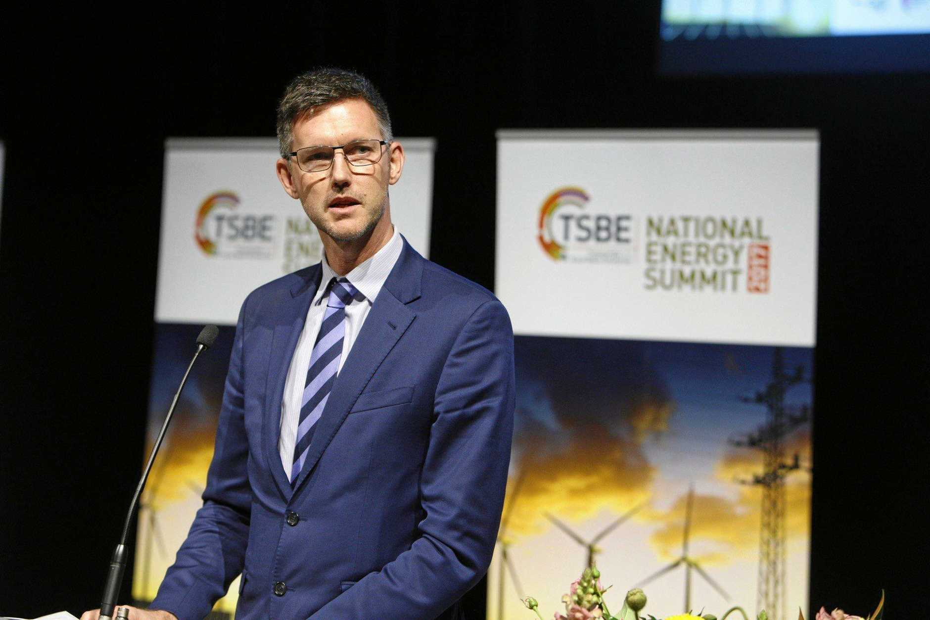 SOLAR SURGE: Minister for Energy, Biofuels and Water Supply Mark Bailey says the Queensland Government was leading the way adopting the cheapest energy infrastructure.