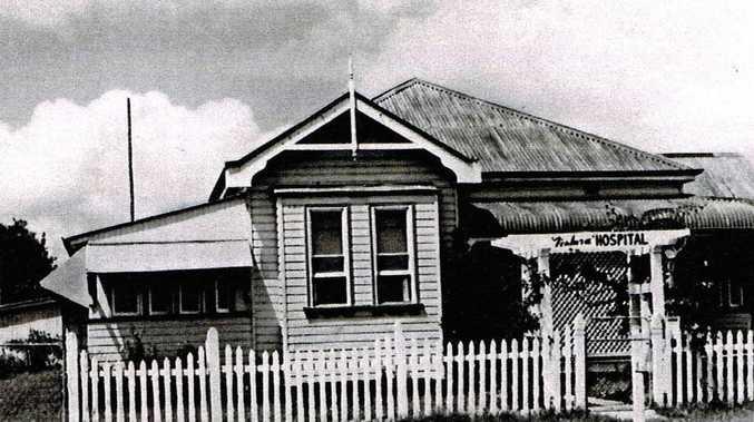 The Ventura Private Hospital at 13 Surry St, Coraki in the 1920s.