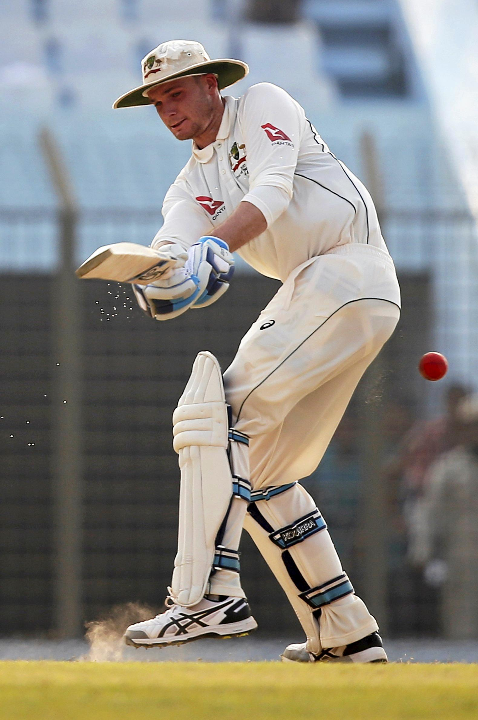 Peter Handscomb says playing in heat in Bangladesh has prepared him for a hot summer series.