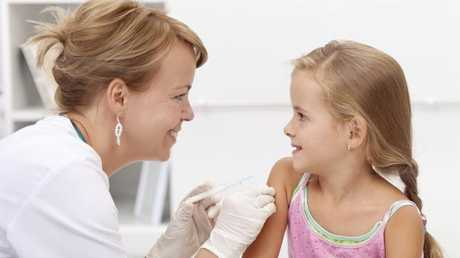 The Government will provide free vaccinations for young children. Picture: File photo/Thinkstock