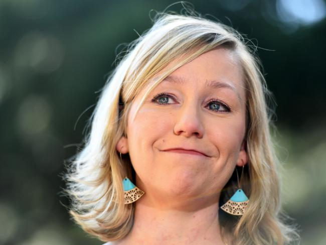 Greens Senator Larissa Waters also helped start the campaign. Picture: AAP