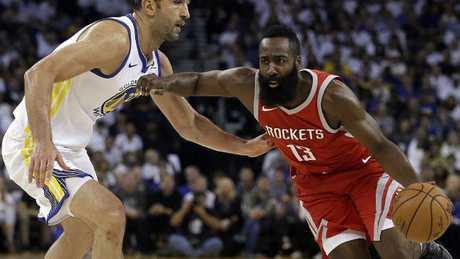 Houston Rockets' James Harden.