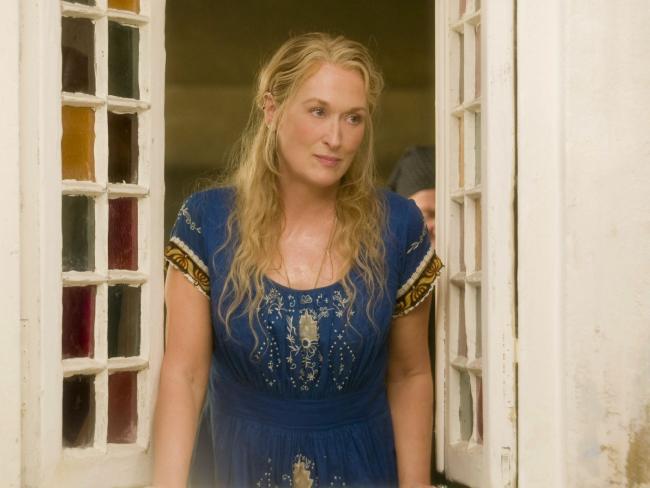 Meryl Streep in a scene from Mamma Mia!