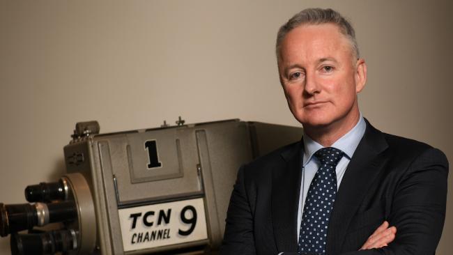 Nine CEO Hugh Marks. Picture: AAP/Paul Miller