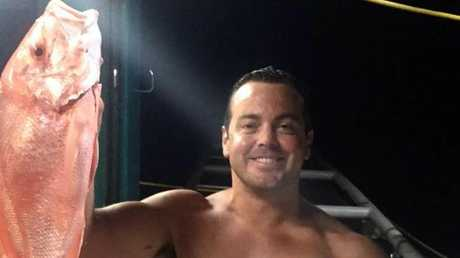 Ruben Mcdornan survived after hours in the water in stormy conditions. Picture: Facebook