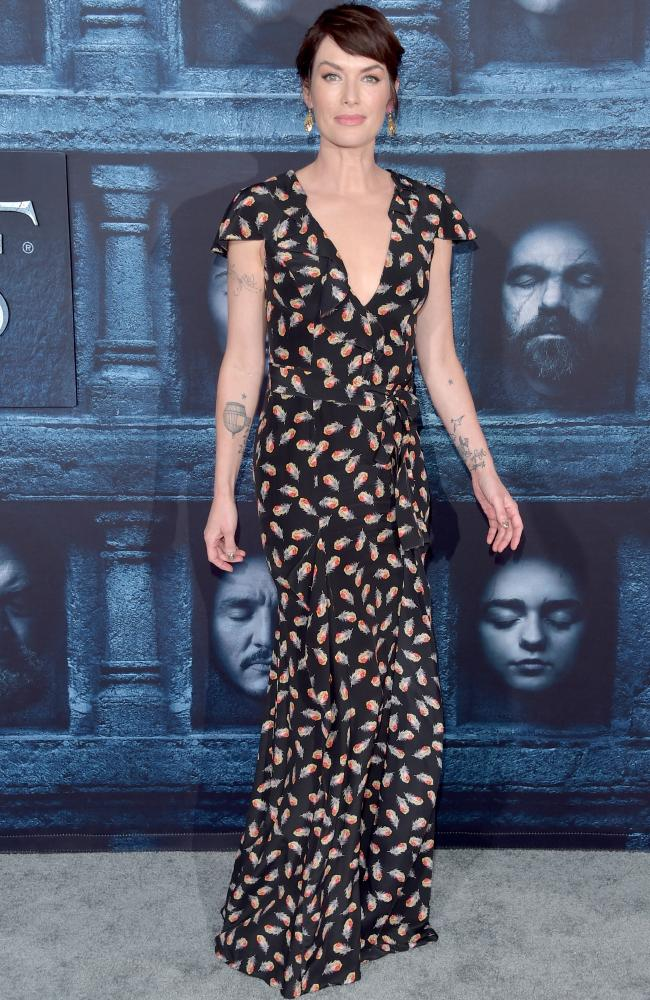 Game of Thrones actress Lena Headey. Picture: Alberto E. Rodriguez/Getty Images