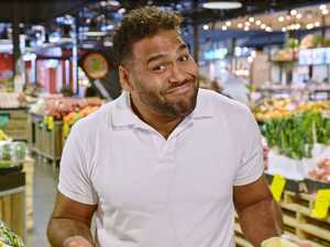 Footy star Sam Thaiday shares his game plan for tackling the weekly fruit and veg shop.
