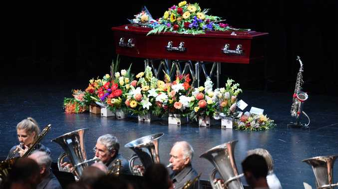 Celebration of Life for Trevor Cecil at the Brolga Theatre.