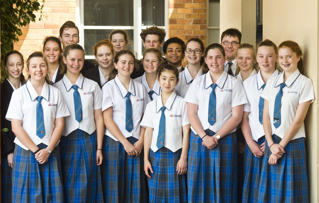 Concordia's Stephen Street Campus Choir will perform on Sunday. Singers (back, from left ) Evie Ford, Adriana Theodosis, Jake Burgess, Emma Erdis, Jiordan Lobwein, Connor Sharpe, Timothy-John Smith, Bridie Middleton and Tristan Bennett as well as (front, from left ) Emma Larsen, Charlotte Wellingham, Sophie Kristensen, Courtney Johnson, Kahana Gardener, Gemma Keeley, Isabel Barton, Elli Burgess and Tyla Parker will join with students from TACAPS and St Saviour's Catholic Primary School.