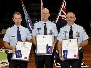 Police awarded for their bravery